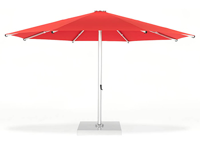 Frankford Nova Giant Telescoping Umbrella in red