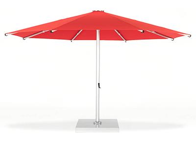 Frankford Nova Giant Telescoping Umbrella in red