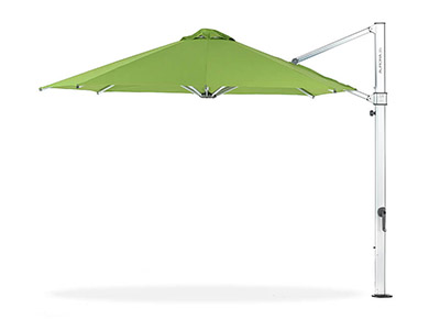 Frankford Aurora Cantilever Umbrella in green