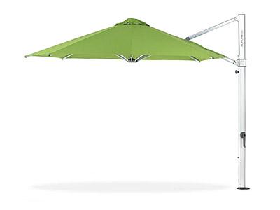Frankford Aurora Cantilever Umbrella in green