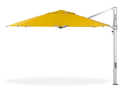 Frankford Eclipse Cantilever Umbrella in yellow