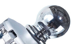 Frankford Classic Ball Finial style option in marine grade chrome plated aluminum