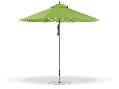 Green Frankford umbrella featured in the Market collection